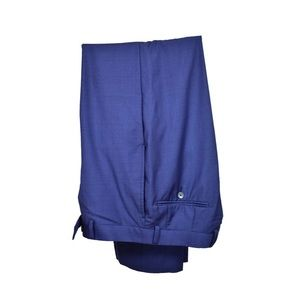Calvin Klein Sapphire Blue Flat Front Pants